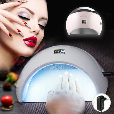 48W Sun6 Led UV Lichthärtungsgerät Lampe Nagel Gel Trockner Nail Dryer Nagellamp