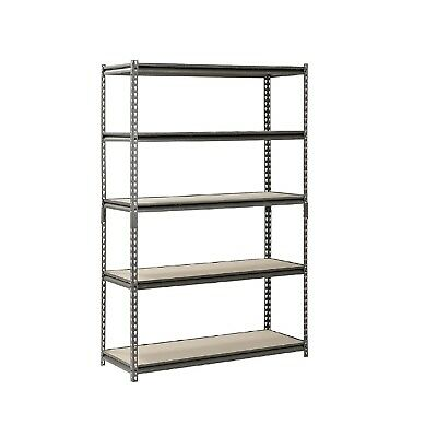 "Muscle Rack 5-Level Heavy Duty-Steel Shelving 48"" W x 18"" D x 72"" H-NEW"