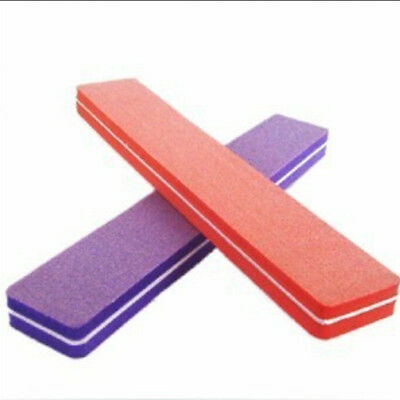 Top Double Sided Manicure Tool Sponge Sanding File Buffer