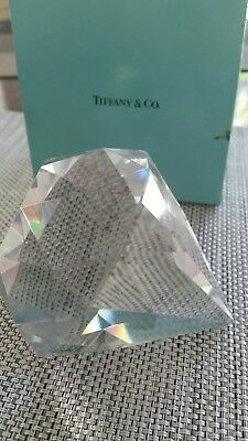 Tiffany & Co Signed Diamond Paperweight