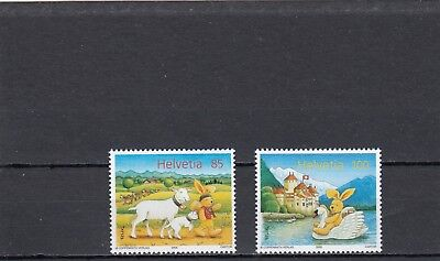 Switzerland - Sg1636-1637 Mnh 2005 Letters From Felix