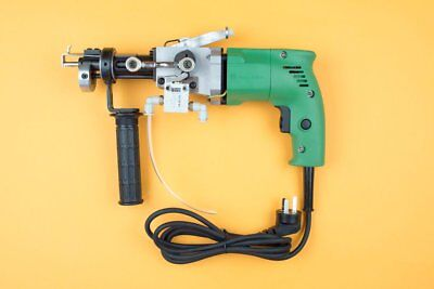 "Industrial grade pneumatic tufting gun for up to 2.75"" loop and cut pile"