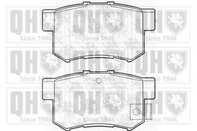 Honda Civic 95-15 Mk8 Mk7 Mk5 Mk4 Vetech Rear Brake Pad Set Braking System Kit