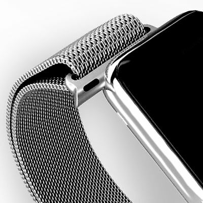 Apple Watch Band Milanese Stainless Steel Strap for Apple Watch 38mm 42mm