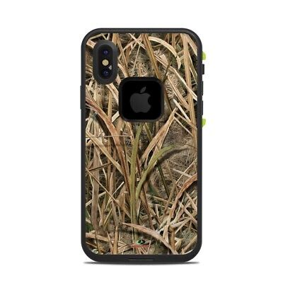 Skin for LifeProof FRE iPhone X - Shadow Grass Blades - Sticker Decal