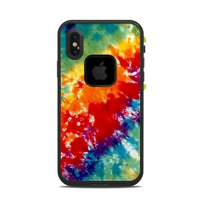 Skin for LifeProof FRE iPhone X - Tie Dyed - Sticker Decal