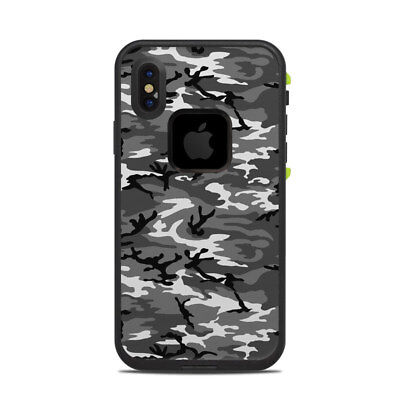 Skin for LifeProof FRE iPhone X - Urban Camo - Sticker Decal