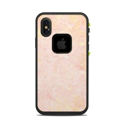Skin for LifeProof FRE iPhone X - Rose Gold Marble - Sticker Decal