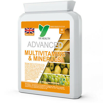 A-Z MULTI VITAMINS AND MINERALS | with Iron | for Men & Women | Capsules/Tablets