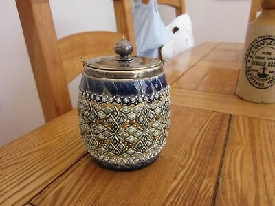 Small Doulton Artware Stoneware Barrel