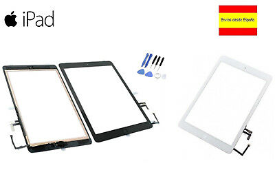 Pantalla Tactil Ipad 5 Air A1822 A1823 + Boton Home Blanco Negro Digitalizador