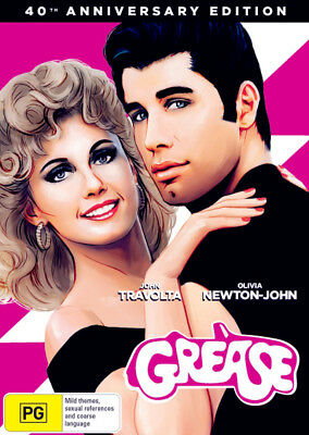 Grease 40th Anniversary Edition DVD R4 New!