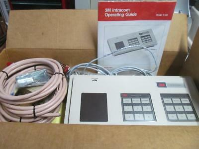 3M D120 Intracom Intercom Base Station Complete W/extras &transformer