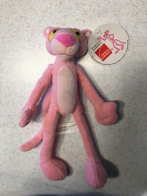 """2014  Owens Corning The Pink Panther 9"""" Stuffed Animal w/ Hangtag"""