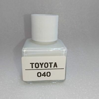 1Day Shipping-For TOYOTA Touch Up Paint Color Code 040 Super White II