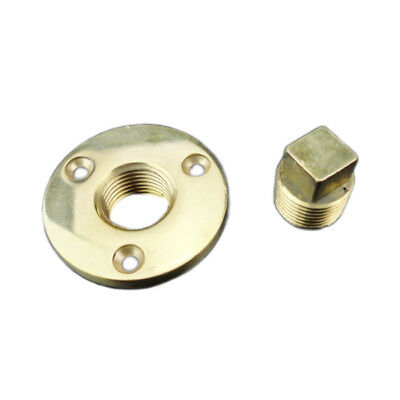Bronze Fit For 1 Inch Diameter Hole 1/2''NPT Boat Cabin Garboard Drain Plug Cast