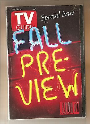 TV GUIDE  Fall Preview Issue  September 18, 1993