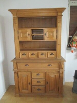 gr nderzeit buffet schrank weichholz eur 350 00. Black Bedroom Furniture Sets. Home Design Ideas