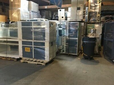 16 Feet of Blue Duralab Laboratory Casework Benches Only $80/foot!