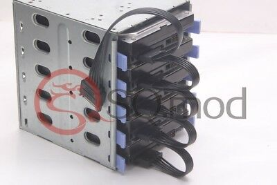 15Pin SATA power male to 1-5-port SATA female HDD cage caddy Power female Cable