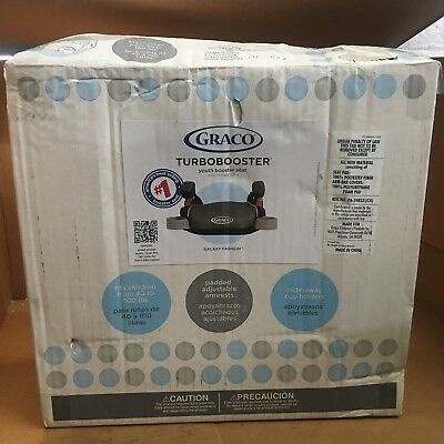 BK11GA3 GRACO BACKLESS TurboBooster Car Seat, Galaxy, One Size ...