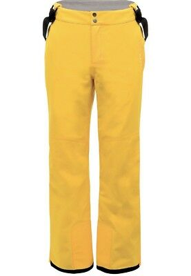 Dare 2B Certify Ski / Snowboard Pants Lemon Chrome Yellow Mens Size Small /Large