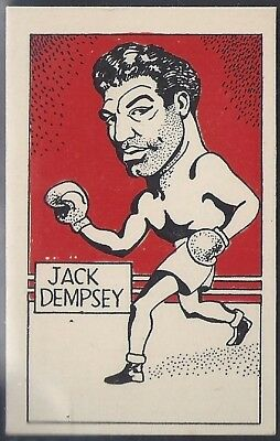 Cummings-Famous Fighters-#50- Jack Dempsey