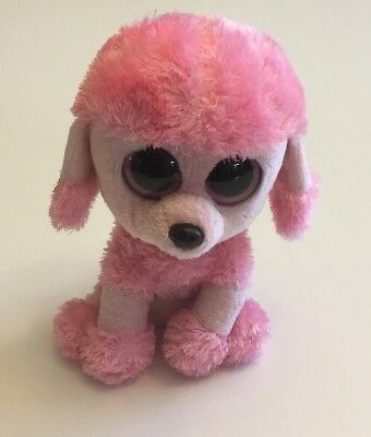 d95aaa35c59 Ty Beanie Boo Boos Princess the Pink Poodle Plush 6