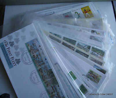 Christmas Island First Day Cover Collection Of 39 Covers Some Sets Make An Offer