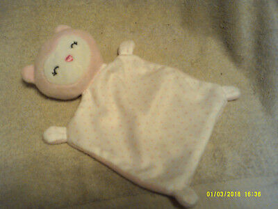 Precious Firsts by Carter*Cute Little Security Bear*PINK/White*Plush*New