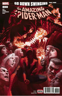 AMAZING SPIDER-MAN #800 Cover A Alex Ross VF/NM because of Corners