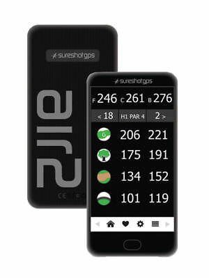 Sureshot Air 2 Golf GPS (Latest Model Preloaded Coures)