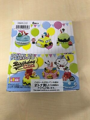 Snoopy Birthday Cake BOX item 1 BOX = 8 pieces, all 8 kinds