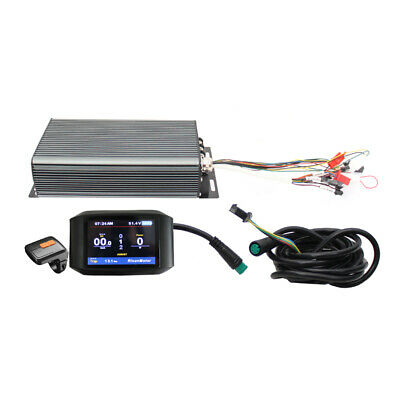 Hi Power 5000W 120A Ebike Programmable Intelligent Controller /&TFT 750 Color LCD