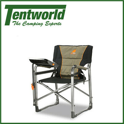 Oztent Gecko Portable Directors Chair With Side Table