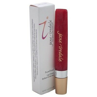Cruelty-Free New .25 Ounce Lasing Jane Iredale PureGloss Red Currant Lip Gloss!