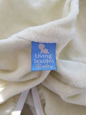 Green Living Textiles terry toweling change mat pad cover