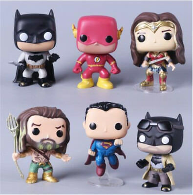 Justice League Series Figure Funko Pop Model Decorative Collection Kid Toy Gifts