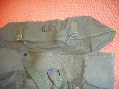 U.S.ARMY :- PACS,FIELD,CARGO, M-1945  MILITARIA  nice, CANVAS