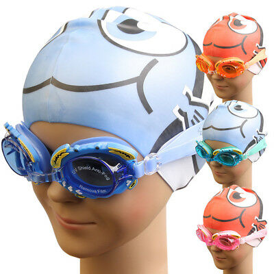 Kids Goggles Swimming Glasses for Children and Teens Anti-Fog UV Protection Thin