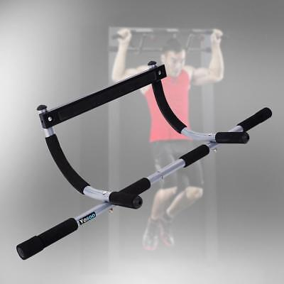 Barra de Dominadas Chin-up Bar Fitness Ejercicio Musculación Deportes De Pared