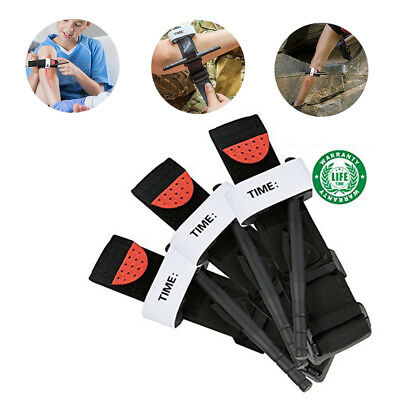 1Pc Tourniquet Rapid One Hand Application Emergency Outdoor First Aid Kit Tool