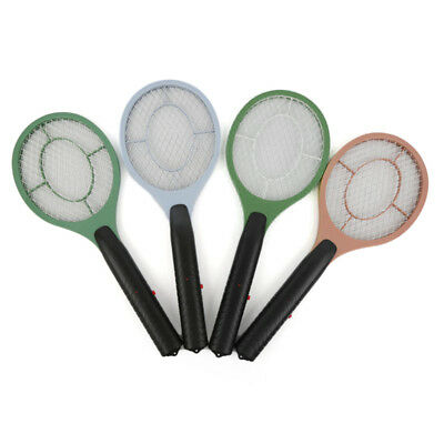 Electric Mosquito Fly Swatter Killer Bug Zapper Insect Tennis Racket Handheld