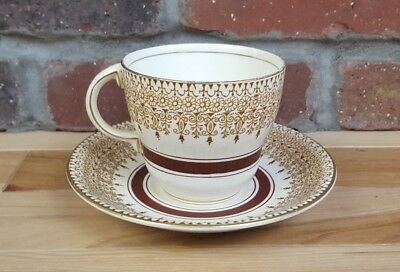 Antiue Barratt's Made In England - Hand Painted Cup & Saucer