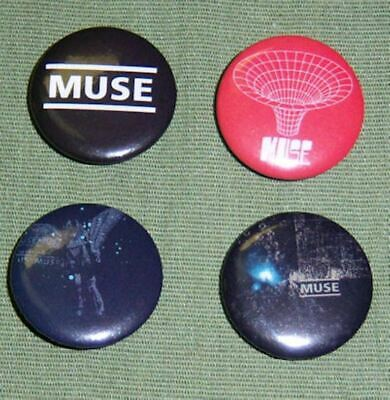 Muse Button/Badge Pack #2--Brand New