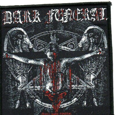 DARK FUNERAL THE RETURN-Official Sew On Woven Patch