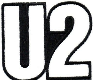 U2-Shaped Logo-Official Sew On Embroidered Patch