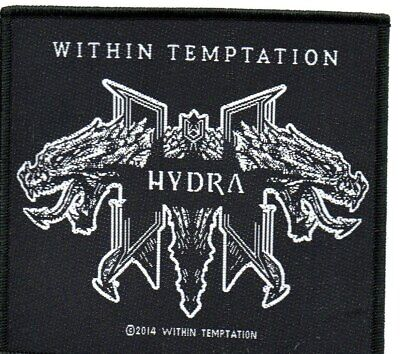 WITHIN TEMPTATION HYDRA-Official Sew On Woven Patch