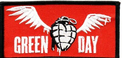 Green Day-White Wings-Official Sew On Embroidered Patch