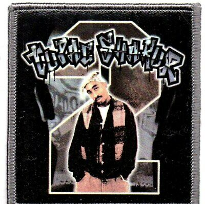 Tupac-Standing-Official Sew On/Iron on  Patch
